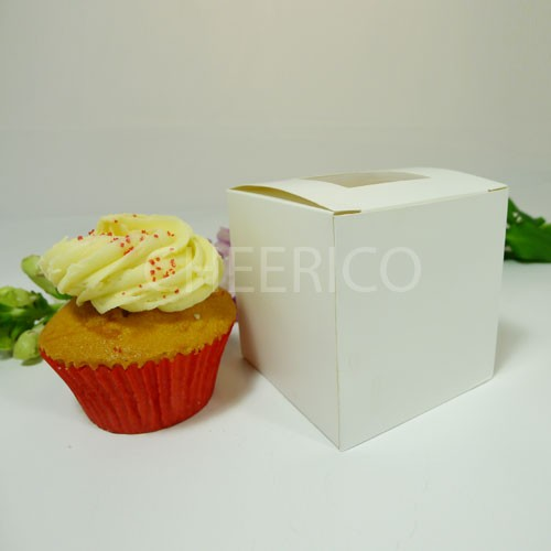 25 sets of Cupcake Window Box with 1 Cupcake Holder($0.95 each set)